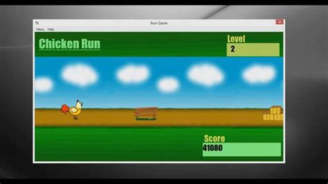 simple visual basic games chicken run visual basic 6 0 game with download code