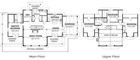emerson floor plan house plans the emerson cedar homes