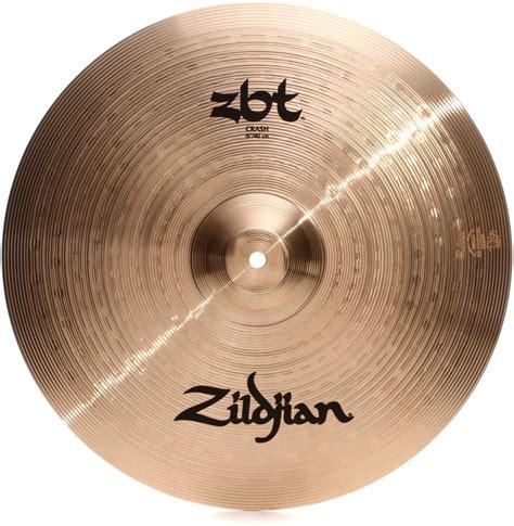 Cymbal Zildjian Zbt Crash 16 zildjian zbt crash cymbal 16 quot sweetwater