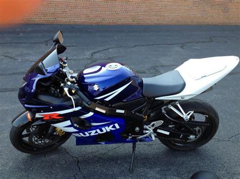 2004 Suzuki Gsxr 600 Buy 2004 Suzuki Gsx R 600 Sportbike On 2040motos