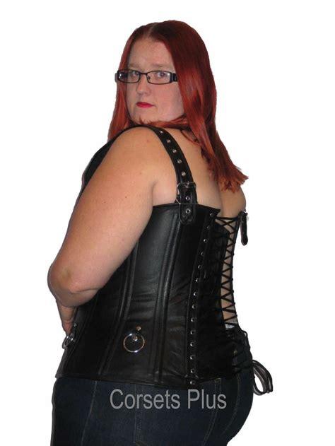 Handmade Corsets Uk - leather corset steel boned waist shaping custom l 12xl