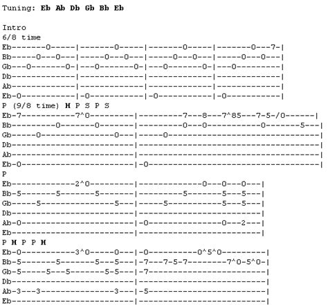 tutorial guitar never too late metallica nothing else matters табы меню песен