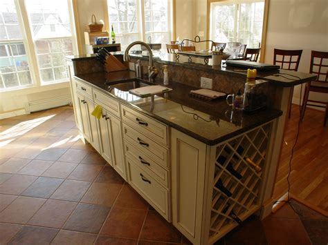 kitchen island wine rack cook bros 1 design build remodeling contractor in
