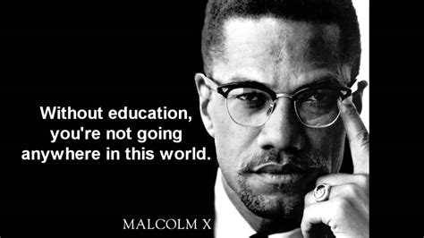 Malcolm X Quotes We Remember Malcolm X With 5 Of His Best Quotes Mlle