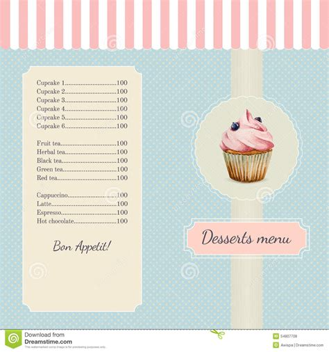 free bakery menu templates download 2 best agenda