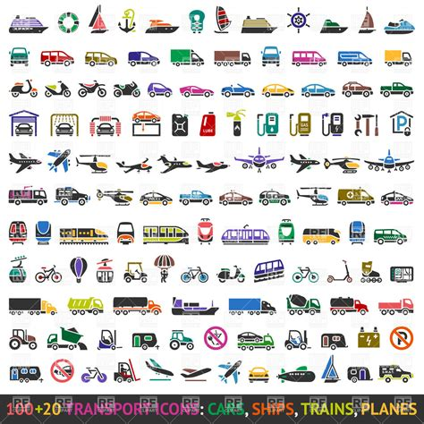 Car Types Icons by Transportation Vehicles Clipart Clipart Suggest