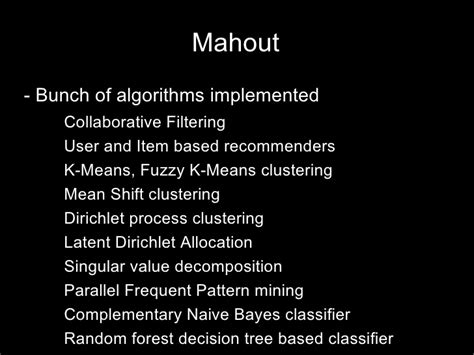 frequent pattern mining meaning sql or nosql that is the question