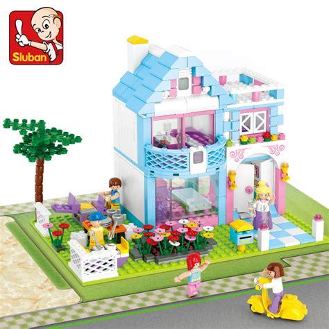 Aliexpress Buy Sluban Building Blocks - aliexpress buy sluban b0535 pink friends