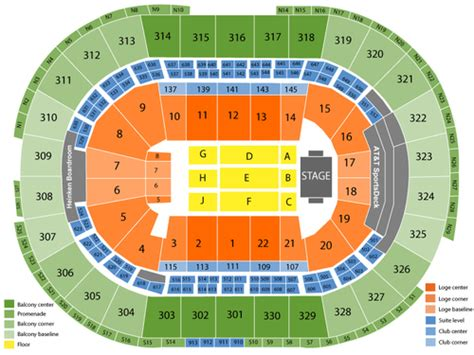 Td Garden Seating Chart Events In Boston Ma Td Garden Layout