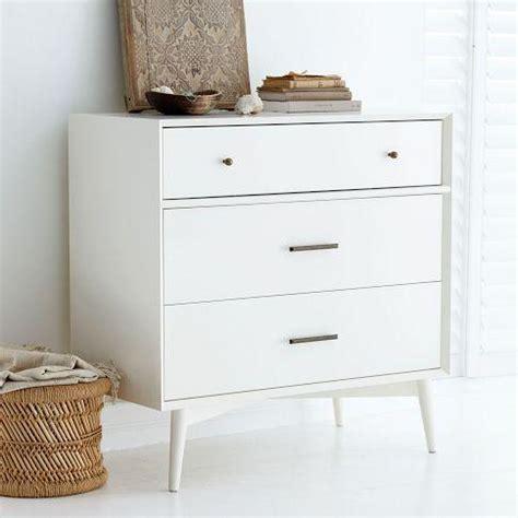 modern 3 drawer dresser west elm mid century 3 drawer dresser white west elm