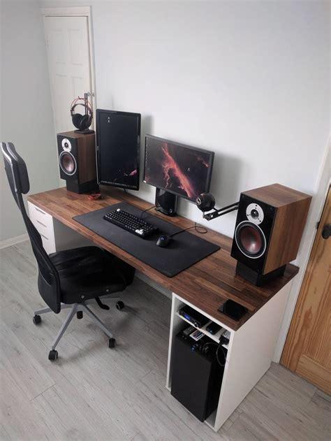 best ikea desk for gaming best 25 ikea gaming desk ideas on ikea study