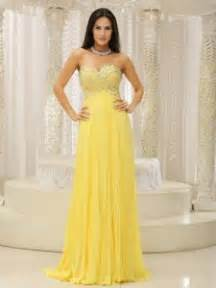 Beautiful yellow sweetheart and beaded 2013 prom dress on wholesale