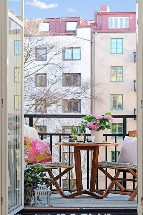 Decorating A Small Balcony by 57 Cool Small Balcony Design Ideas Digsdigs
