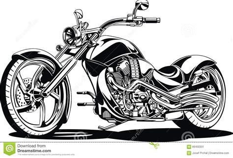 imagenes blanco y negro motos mi dise 241 o blanco y negro de la moto ilustraci 243 n del vector