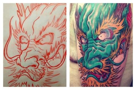 dragon head tattoo picture at checkoutmyink com
