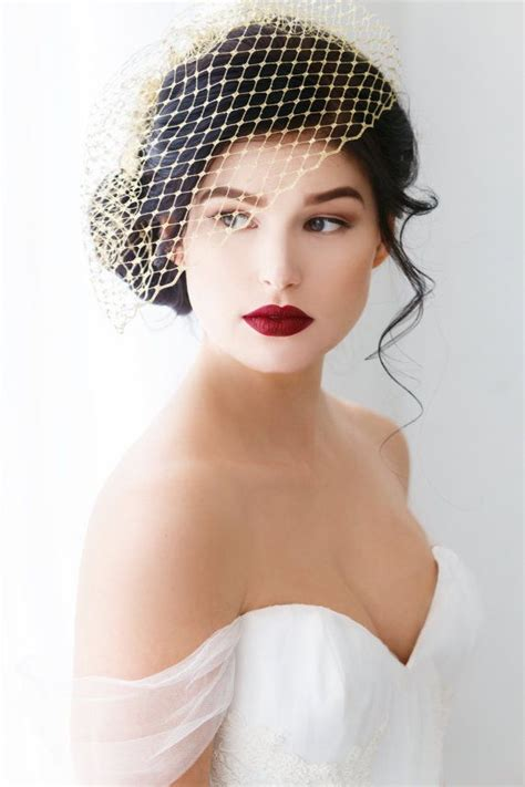 Wedding Hair With Birdcage Veil by Best 25 Birdcage Veils Ideas On Wedding