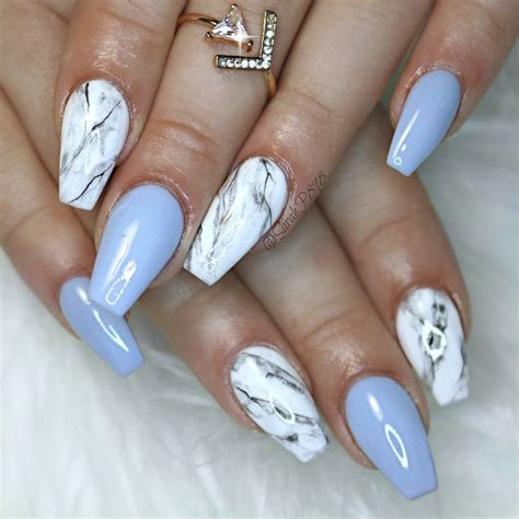 nail design marble effect best 25 blue gel nails ideas on pinterest summer gel