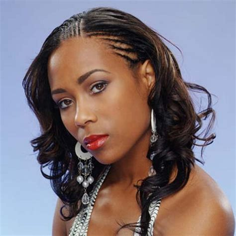 black hairstyles braided to the side black women braided hairstyles