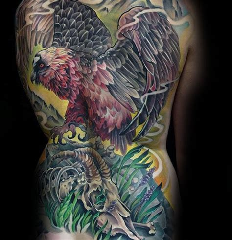 vulture tattoo meaning 70 vulture tattoo designs for men scavenging bird ink ideas