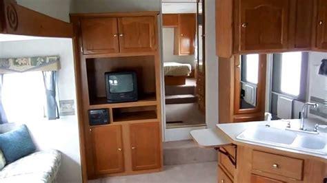 Remodel Floor Plans 2002 keystone springdale 283 bh bunk house fifth wheel