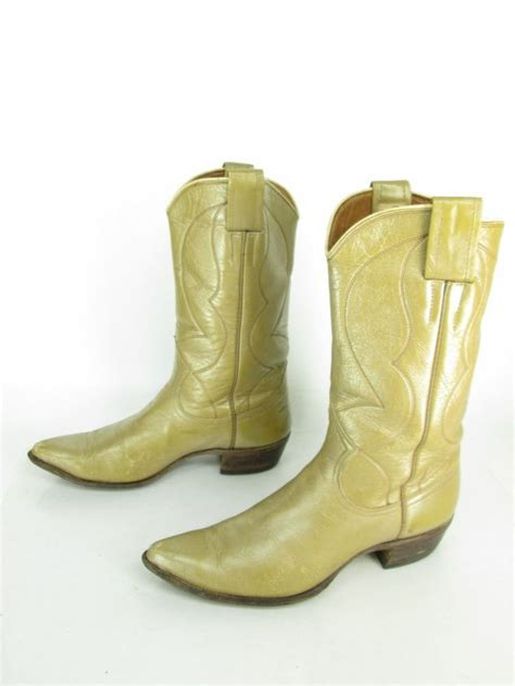 cowboy boots for sale womens vintage nocona gold butterscotch leather cowboy
