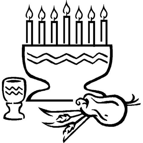 kwanzaa kinara coloring page 17 best images about kwanzaa coloring page on pinterest