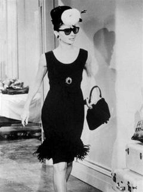 audrey hepburn little people little black dress audrey hepburn