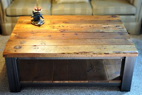 rustic refinery rustic coffee tables other metro