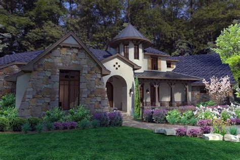 european french country house plans cottage craftsman european french country house plan 75135
