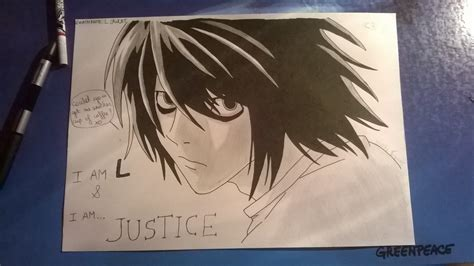 Note 9 Drawing by Note L Lawliet Drawing By Yukino101 On Deviantart