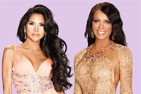 real housewives of beverly hills joyce giraud and carlton meet rhobh s new stars carlton gebbia and joyce giraud de