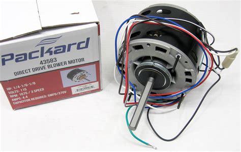 furnace blower fan motor 3583 1 4 hp 1075 115 v 3 speed furnace blower fan motor ebay