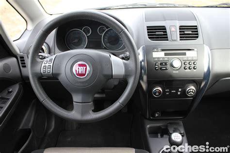 Fiat Sedici Interior by A Prueba Fiat Sedici 2 0 Multijet 135 Cv