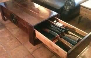 Sofa Tabel Tv Wall Unit Plans Wood Projects Birdhouse Hidden Gun