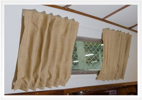sailboat curtains how to make boat interior curtains do it yourself advice