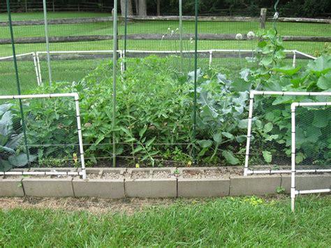 Chicken Wire Garden Fence one hoosier s view how to build a garden