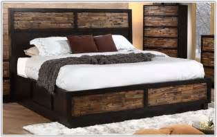 California King Sleigh Bed With Drawers Uncategorized