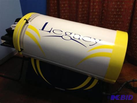 leg tanning bed heartland legacy leg tanner 01291301 used tanning bed