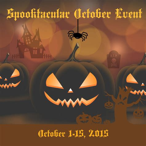 October Giveaway - halloween spooktacular october giveaway event work money fun