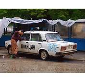 полиция Bulgarian Police Car LADA