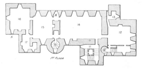 glamis castle floor plan blair castle the seat of the dukes of atholl part 1 by