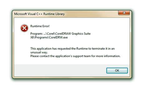corel draw x5 runtime error runtime error coreldraw x6 coreldraw graphics suite x6