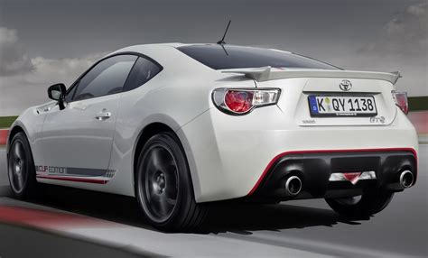 toyota germany toyota 86 cup edition germany only model released photos