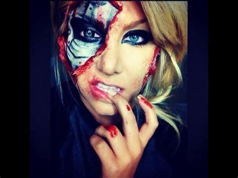 tutorial makeup terminator terminator inspired makeup tutorial youtube