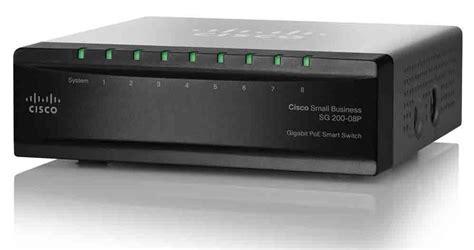 Switch Cisco 8 Port Gigabit cisco sg200 08p 8 port gigabit poe smart switch cisco