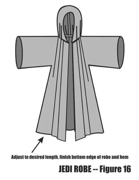 free pattern jedi cloak jedi robe tutorial http www thejediassembly com