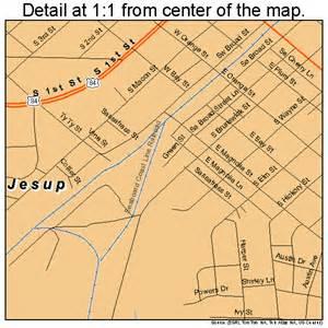 jesup map 1342268