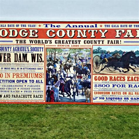 dodge county fair wisconsin events dodge county fairgrounds