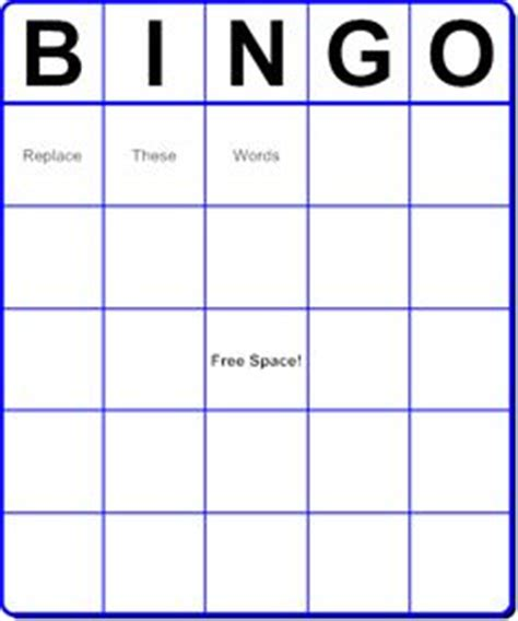 make your own report card free easy to make bingo cards i use these for book
