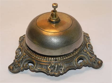 Desk Top Bell by Antiques Atlas Desk Top Brass Bell